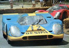 Jurgen Neuhaus, #12 Porsche 917K (Gesipa Racing Team), Interserie Norisring 1970 (1st)