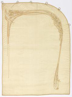 Curtains, ca. 1909, Hector Guimard