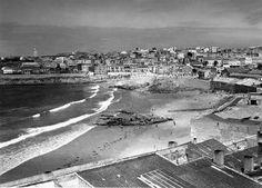 Vista de La Coruña antigua