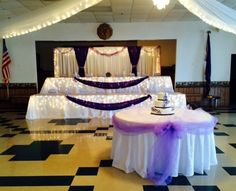 Get a free bridal party table skirting and lighting with any tablescape package when you book with Sweet Details - a $270 value! (excludes cinderella skirting) Pin this photo and visit @detailsbyamanda at @brideshowpgh July 19th to claim your offer. Buy tickets at www.eventbrite.co... pittsburgh wedding burgh bride pittsburgh bride