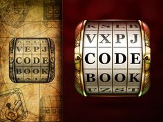 Beautiful Code book App Icon found on Dribbble.