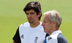NASSER HUSSAIN: Moores and Cook can take pride in their first day