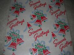 20 FEET Vintage Christmas Wrapping Paper Lot - U PICK (05/05/2011)