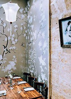 #Restaurant Dan à #Bordeaux, pour un #diner #cozy original.  #bestplace #France #déco