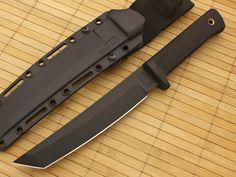 Cold Steel Knives Recon Tanto 13RTKJ1 Black VG-1 Tactical Knife on Sale | GPKNIVES.com