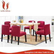 salón sillas de comedor muebles de metal baratos para la venta