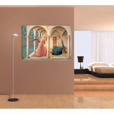 BEATO ANGELICO - ANNUNCIAZIONE (140x97 cm / 100x69 cm) #artprints #interior #design #museo #museum #art #prints  Scopri Descrizione e Prezzo http://www.artopweb.com/categorie/museo/EC14655