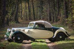 Appartenant depuis 44 années au propriétaire actuel, Citroën 11BL « Traction » cabriolet 1939