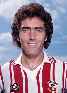 Ted MacDougal of Southampton in Retro Football, Football Art, Football Shirts, Southampton Football, Southampton Fc, Soccer World, My Youth, Ted, Saints