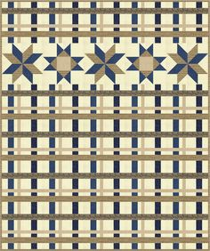Piece N Quilt: Salute to Plaid - now available as a PDF