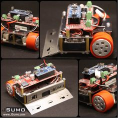 M1 #minisumo #robotkit from #JSumo. Advanced #Arduino Mini sumo kit for all robot tournaments. http://www.jsumo.com/m1-arduino-mini-sumo-robot-kit-unassembled In-Stock NOW!