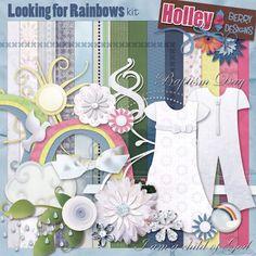 Looking for rainbows freebies {baptism}