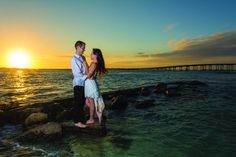 Beach Engagement Pictures!