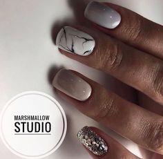 How To Do Nails, My Nails, Classy Nails, Mani Pedi, Short Nails, Marshmallow, Nailart, Nail Designs, Polish