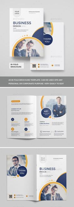 Buy Corporate Bi-Fold Brochure 2018 by Mister-Templater on GraphicRiver. Corporate Bi-Fold Brochure This layout is suitable for any project purpose. Very easy to use and customise. Free Brochure, Bi Fold Brochure, Brochure Layout, Brochure Size, Corporate Brochure Design, Company Brochure, Business Brochure, Medical Brochure, Travel Brochure