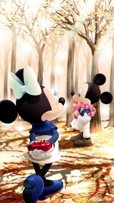 Minnie and Mickey Mouse Valentines Walt Disney Mickey Mouse, Mickey Mouse E Amigos, Mickey Mouse Kunst, Disney Micky Maus, Mickey Mouse And Friends, Disney Fun, Mickey Mouse Wallpaper Iphone, Cute Disney Wallpaper, Mickey Mouse Imagenes