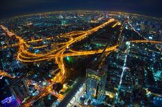 """Earth is round (Bangkok, Thailand) by Thanadol Yuiam, via 500px"""