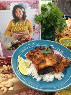 "Winner of ""The Next Food Network Star,"" Chef Aarti Sequeira makes Tandoori Chicken! #indianfood #chicken #tandoori #chickentandoori #homeandfamily"