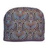 """Tea Cozy - Blue Royal Fans Tea Cozy - Insulated Tea Cozy by Blue Moon Fine Teas. $29.95. 100% cotton - quilted item polyester filled.. Look for other Tea Cozy Colors and Designs in Blue Moon Tea's Amazon store.. Measured from inside 9 1/2 """" H x 12"""" L x 7 W. Made in the USA. Teapot Cozy covers 2 Cup, 4 Cup, or 6 Cup Teapot.. A beautiful way to keep your Teapot covered and your Tea warm. Our Royal Fans Tea Cozy is elegant, bright and stylish, with a Fan design in vi..."""