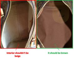 How to spot a fake Louis Vuitton Bag? Ladies/men please know the difference when buying