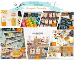 Handmade/Homemade: Craft Show Booth Inspiration