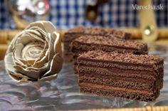 No predsa hriešne dobrý zákusok! Baking Recipes, Cake Recipes, Dessert Recipes, Czech Recipes, Ice Cream Recipes, Presne Tak, Shortbread, Bon Appetit, Nutella