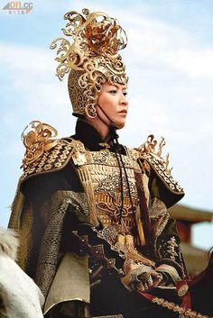 "Carina Lau, ""Detective Dee and the Mystery of the Phantom Flame"", 2010 #armor"