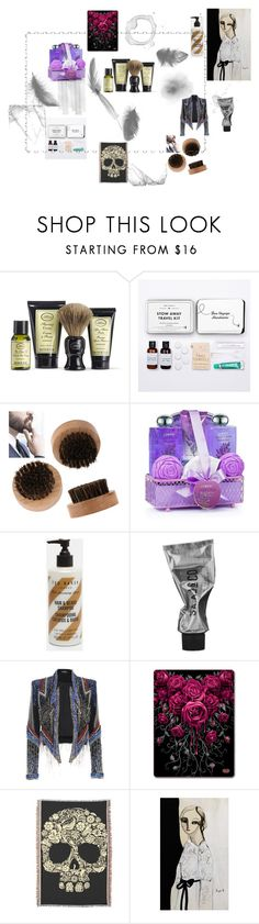 Gass by specvozmoznosti on Polyvore featuring interior, interiors, interior design, дом, home decor, interior decorating, The Art of Shaving, Mark & Graham and Ted Baker