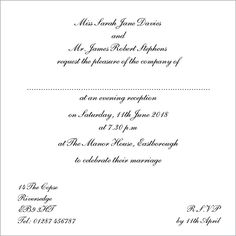 Formal invitation wording wedding ideas pinterest formal wedding invitation text template wedding invitation wording wedding stopboris Choice Image