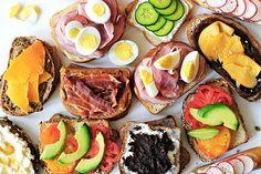 Saveur's best 2 ingredient sandwiches via The Kitchen
