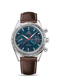 331.12.42.51.03.001 : Omega Speedmaster 57 Co-Axial Blue Strap