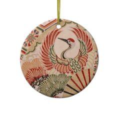 Shop Japanese fabric Ornament created by svetico. Japanese Ornaments, Fabric Ornaments, Japanese Fabric, White Porcelain, Ceramics, Prints, Color, Design, Ceramica