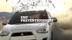 Mitsubishi Identifies Your Most Pretentious Facebook Friends, and Runs Them Over | @Adweek