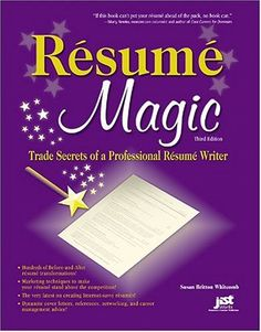 resume magic trade secrets of a professional resume writer magic trade cover letter for
