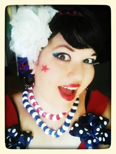 Independence Day! Independence Day, Vintage Inspired, Disney Characters, Fictional Characters, Snow White, Wigs, Disney Princess, My Style, Inspiration