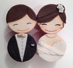 Cupcakes Noivinhos