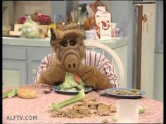 ALF Singing Down by the Dinner Plate - YouTube