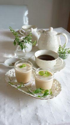 紅茶のパンナコッタ | 本村美子のブログ