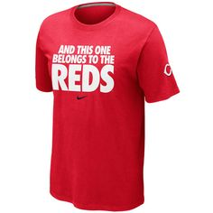 Marty's famous line makes for a perfect t-shirt. Cincinnati Reds Mens MLB Local Tee by Nike. $27.99.