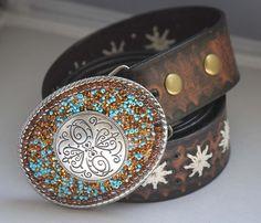 Navajo - Handmade Belt Buckle