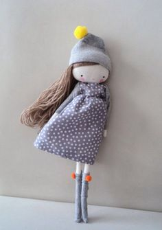 #children's #toys #dolls - Affordable Handmade Dolls by Las Sandalias de Ana from Spain on Etsy
