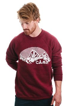 10 great gifts you can buy online, such as this Camp Brand Goods sweatshirt. #gifts #xmasshopping #sweaters #onlinegifts #onlineshopping