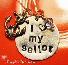 Necklace Navy Sailor Wife