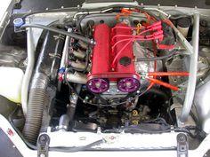 NB Mazda Miata  Engine Bay Bracing by MiataPower