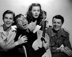 Darryl Hickman, Chill Wills, Jeanne Crain and Cornel Wilde - LEAVE HER TO HEAVEN