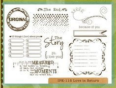 Perfect for scrapbooking...$21.60, #ippity