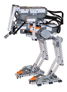 A LEGO replica of the All Terran Scout Transport (AT-ST) from the Star Wars movies. Instructions available! Lego Nxt, Lego Robot, Lego Mecha, Lego Coding, Lego Engineering, First Lego League, Lego Animals, Lego Craft, Lego Mindstorms