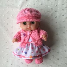 "Handmade Baby Dolls Clothes for 8.5"" Lil' Cutesie BERENGUER doll 