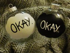 Make Your Christmas on the theme the fault in our stars okey?okey. :)