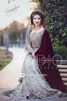 2072 best pakistani bridal wear and formal dresses images Asian Bridal Dresses, Pakistani Wedding Outfits, Pakistani Wedding Dresses, Bridal Outfits, Indian Dresses, Dress Wedding, Indian Outfits, Prom Dresses, Walima Dress